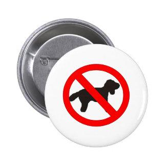 Aucun signe de chiens badge
