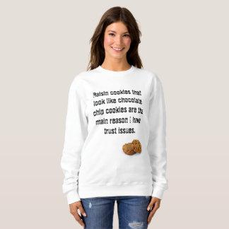 Aucun sweatshirt drôle de gâteau aux pépites de