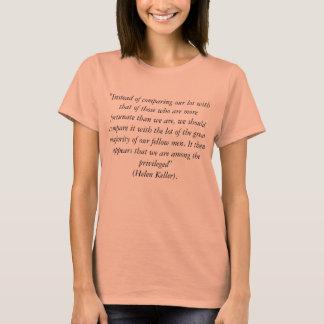 Aucun T-shirt de citation de comparaisons