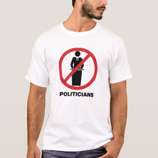 Aucun T-shirt de politiciens