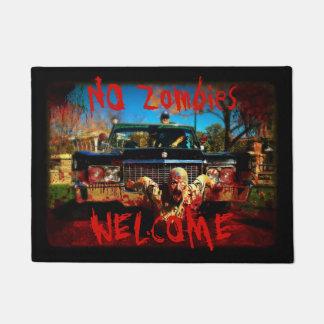 Aucun tapis de porte bienvenu de zombis