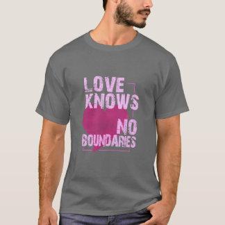 Aucune chemise de frontières - choisissez la t-shirt