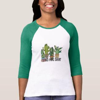aucune conception drôle d'épine de cactus de t-shirt
