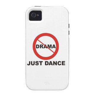 Aucune danse de drame juste coques iPhone 4