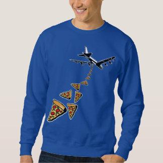 Aucune guerre plus de pizza sweatshirt