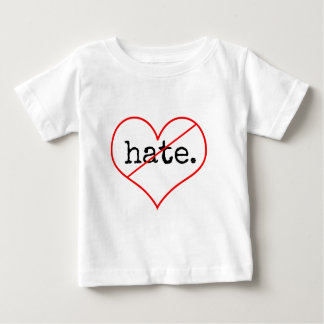 aucune haine t-shirt pour bébé