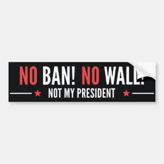 Aucune interdiction ! Aucun mur ! Autocollant Pour Voiture