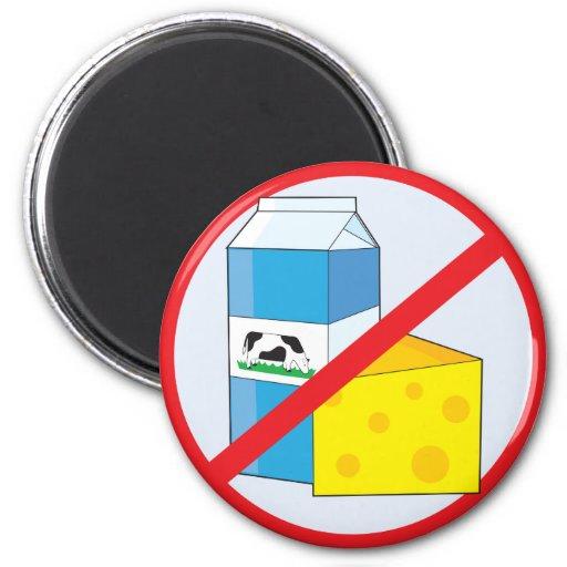 Aucune laiterie aimants pour réfrigérateur