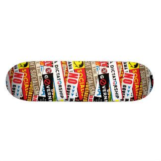Aucune propagande socialiste skateboard 19,7 cm