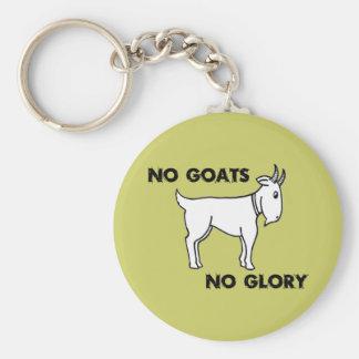 Aucunes chèvres aucune gloire porte-clé