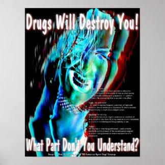 Aucunes drogues posters