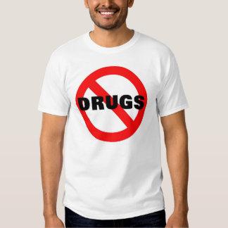 AUCUNES DROGUES T-SHIRTS