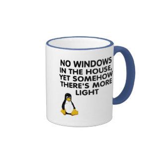 Aucunes fenêtres dans la maison… mugs