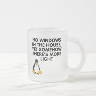 Aucunes fenêtres dans la maison… mug à café