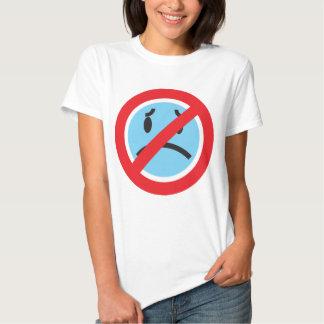 Aucunes filles de chemise de froncements de t-shirt