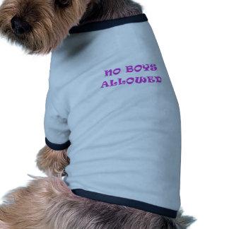 Aucuns garçons permis manteaux pour chien