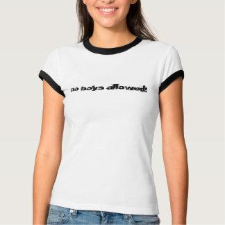 aucuns garçons permis ! t-shirt