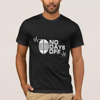 AUCUNS JOURS DE CONGÉ le T-shirt de l'habillement