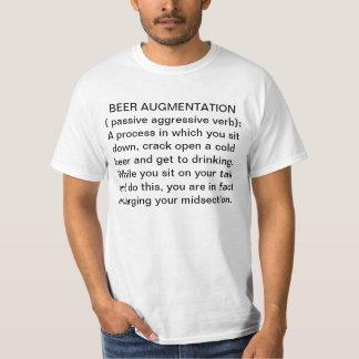 Augmentation de bière t-shirts