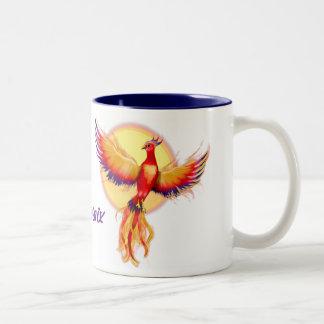 Augmentation de Phoenix Tasse 2 Couleurs