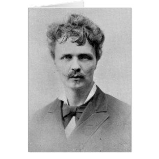 August Strindberg, le 1er janvier 1884 Carte De Vœux