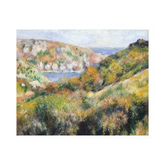 Auguste Renoir - collines autour de la baie Toiles