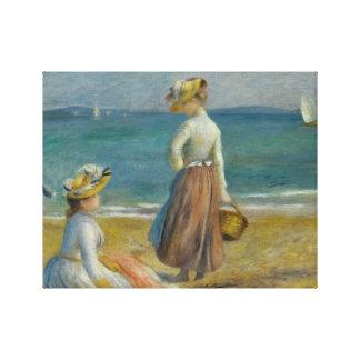 Auguste Renoir - figures sur la plage Toiles