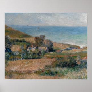Auguste Renoir - vue du littoral Posters