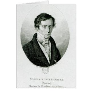 Augustin Jean Fresnel 1825 Carte De Vœux
