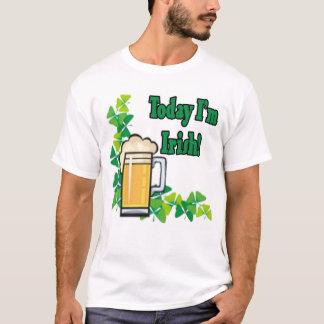 Aujourd'hui je suis irlandais t-shirt