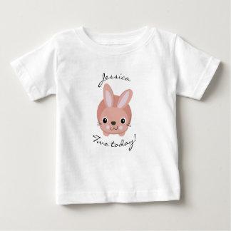 Aujourd'hui T-shirt du lapin deux