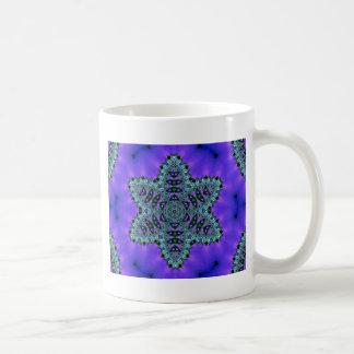 Aura verte turquoise fraîche de Lotus d'étoile Mug