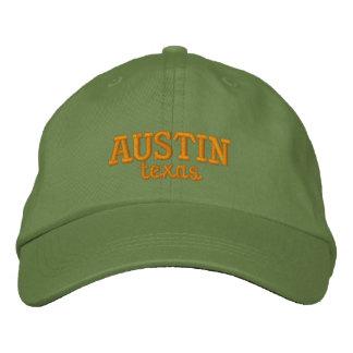 Austin le Texas brodé Casquette Brodée