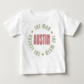 Austin l'homme le mythe la légende t-shirt pour bébé