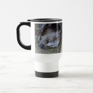Australian_Wombat_Cat_Naps_White_Travel_Coffee_Mug Mug De Voyage
