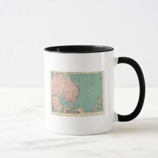 Australien, ports de la Nouvelle Zélande Mug