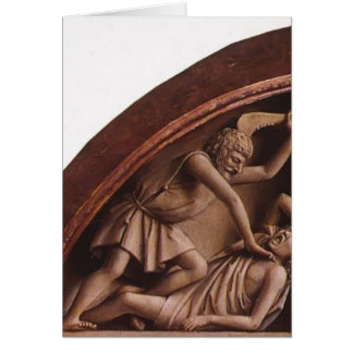 Autel de janv. van Eyck- The Gand (détail) Carte De Vœux