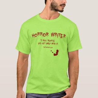 Auteur 3 d'horreur t-shirt