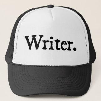 Auteur (lettrage noir) casquette