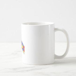Autism_Awareness_Ribbon Mug Blanc