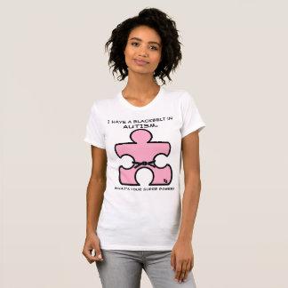 Autisme de ceinture noire ce qui est votre T-shirt