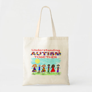 AUTISME de compréhension ensemble Tote Bag