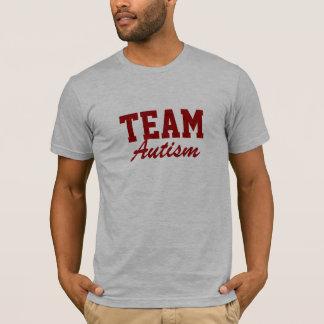 Autisme d'équipe t-shirt