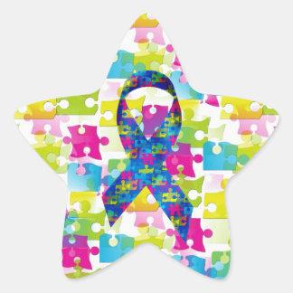 Autisme Sticker Étoile