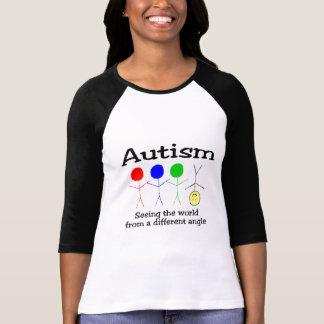 Autisme voyant le monde d'un angle différent t-shirt