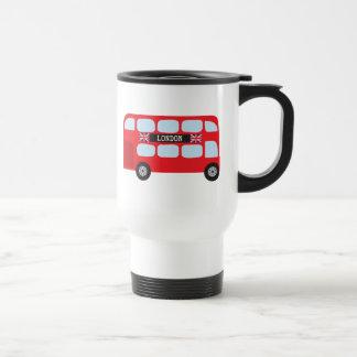 Autobus à deux étages de Londres Tasse À Café