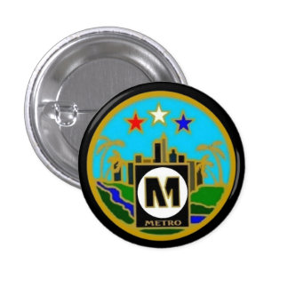 Autobus centraux de métro de Los Angeles de joint Badge