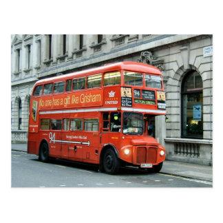 Autobus d'autobus à impériale de Londres Carte Postale