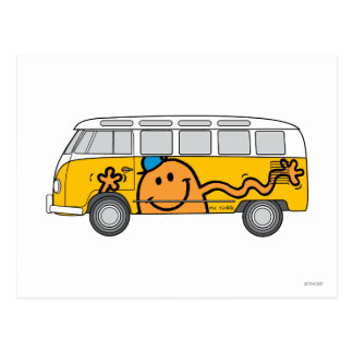 Autobus de chatouillement carte postale