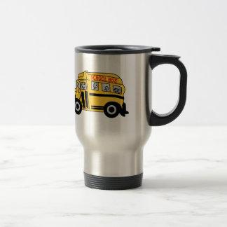 Autobus scolaire mug de voyage